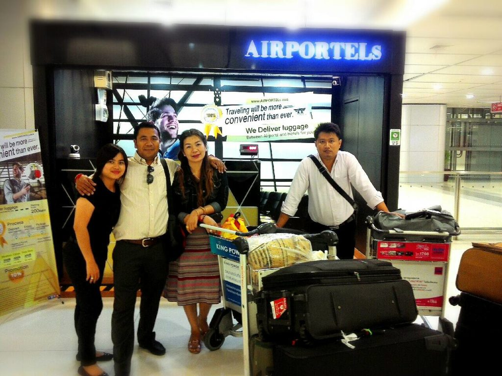 luggage delivery at suvarnabhumi,storage,sim card thailand