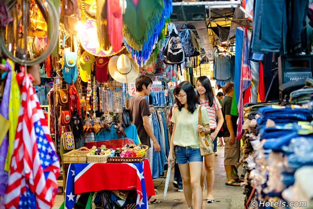 shopping list in Bangkok,korean travelers