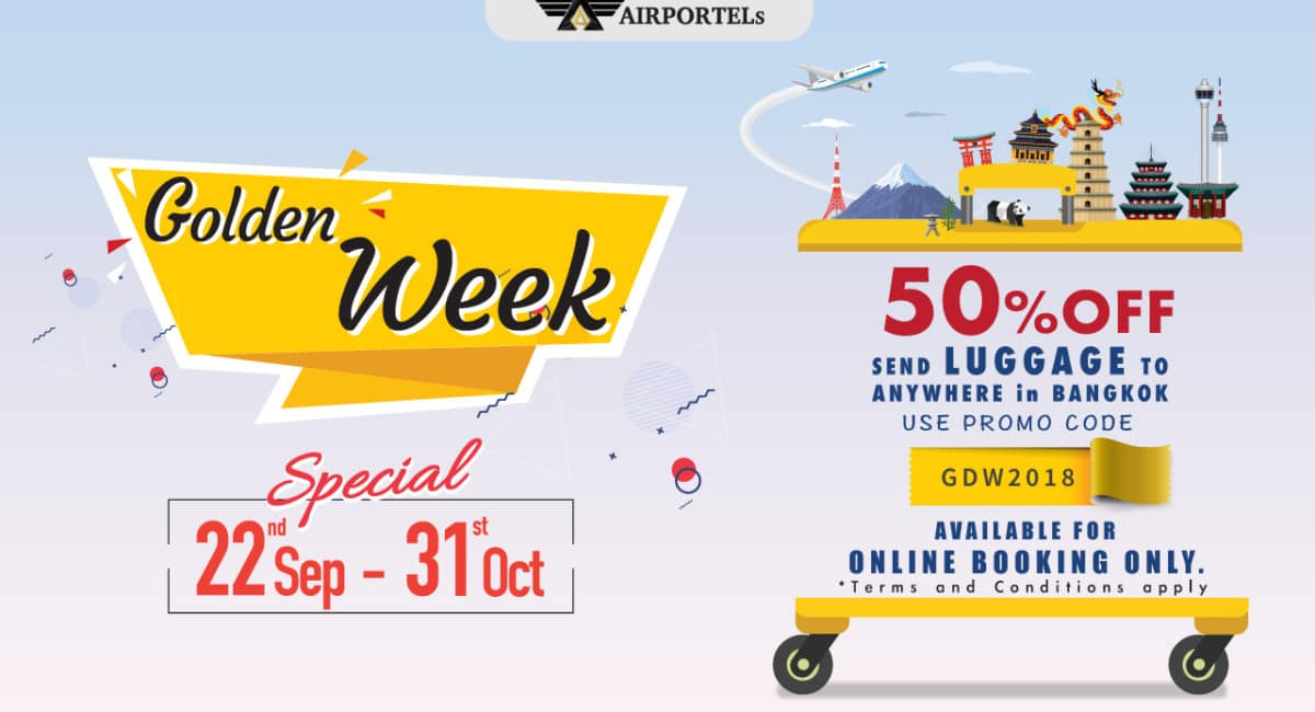 <span class='p-name'>Golden week 2018 sale 50% off for online luggage delivery</span>