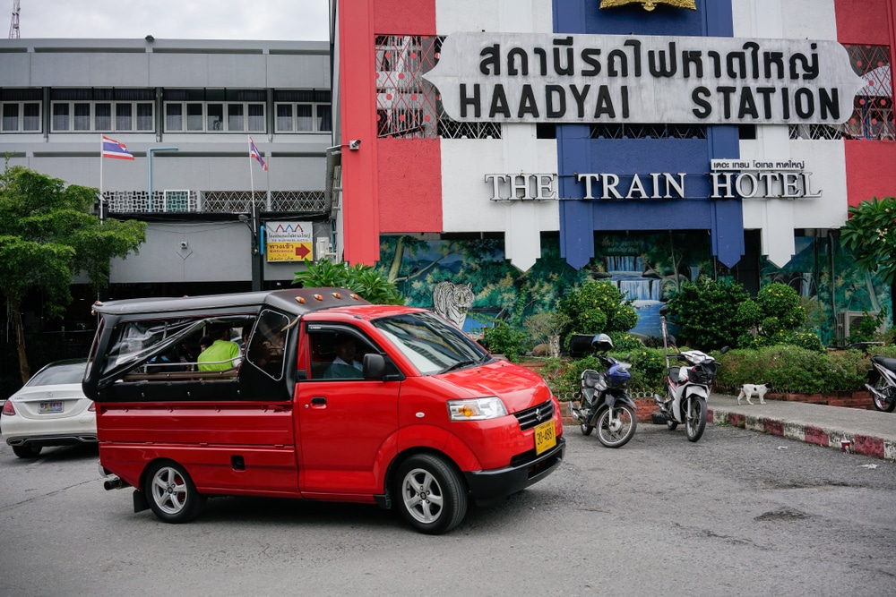 Luggage storage locations in Hat Yai