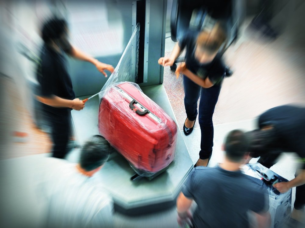 Baggage wrapping,Luggage Wrapping