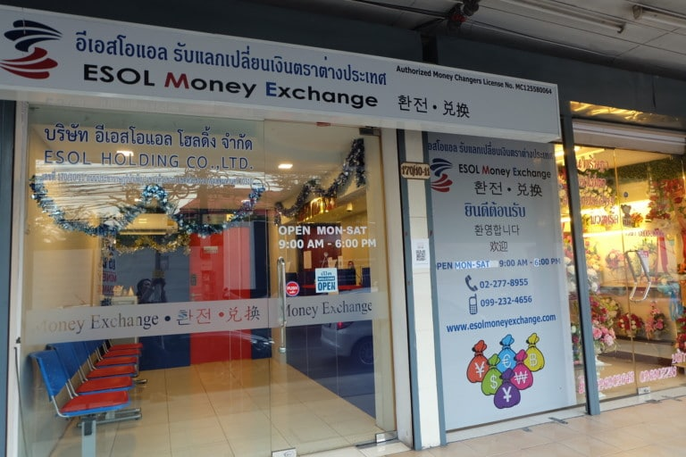 ESOL Money,money exchange